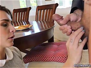 elderly gal railing the elderly manhood!