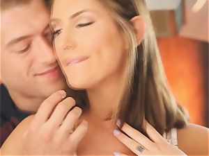 August Ames gets birthday pound from Xander Corvus