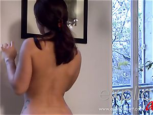 Liza del Sierra masseuse with ass fucking concluding