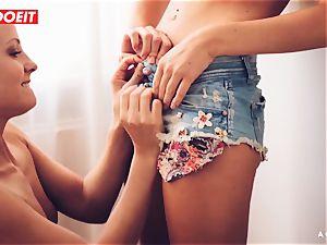 LETSDOEIT - nasty lesbians enjoy munching Their jummy twats