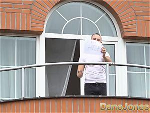 Dane Jones hidden cam ravages his marvelous neighbour