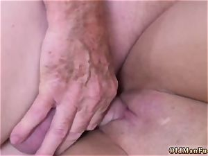 dad and mommy elder boy gonzo Ivy amazes with her phat boobs and arse