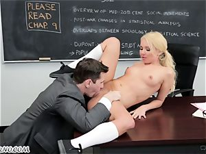 teacher seduced and ravaged his college girl