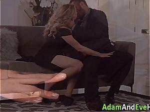 super-sexy couple Mia Malkova and Danny Mountain romping
