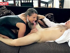 large prick boy pulverizes magnificent Suzi In His first-ever romp flick