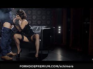 xCHIMERA - Amirah Adara creampied in fetish orgy vignette